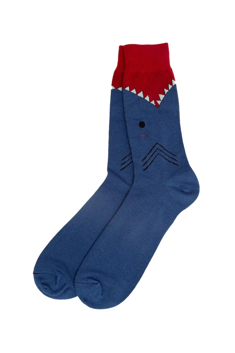 5. Shark Bite Socks