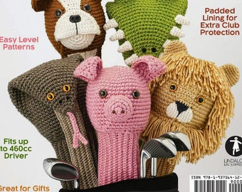 Crocheted Golf Club Covers Etsy