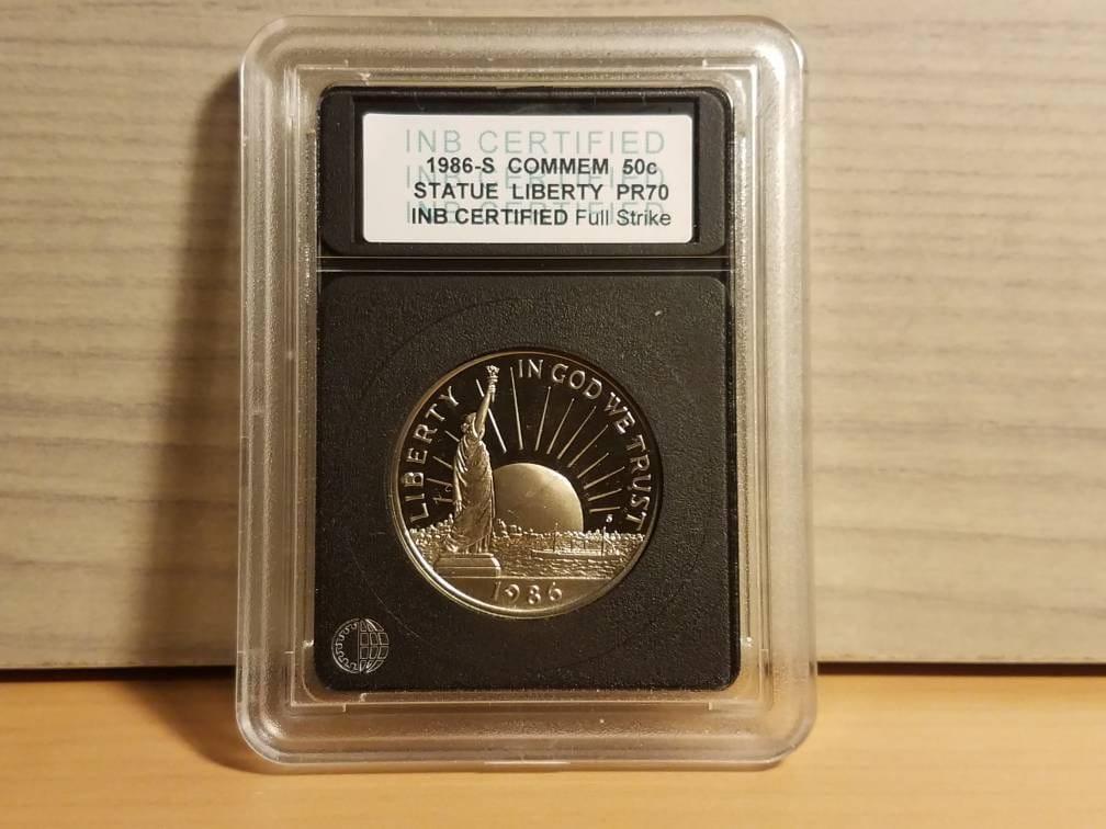 1986-S 50C Statue of Liberty Commemorative Half Dollar Proof