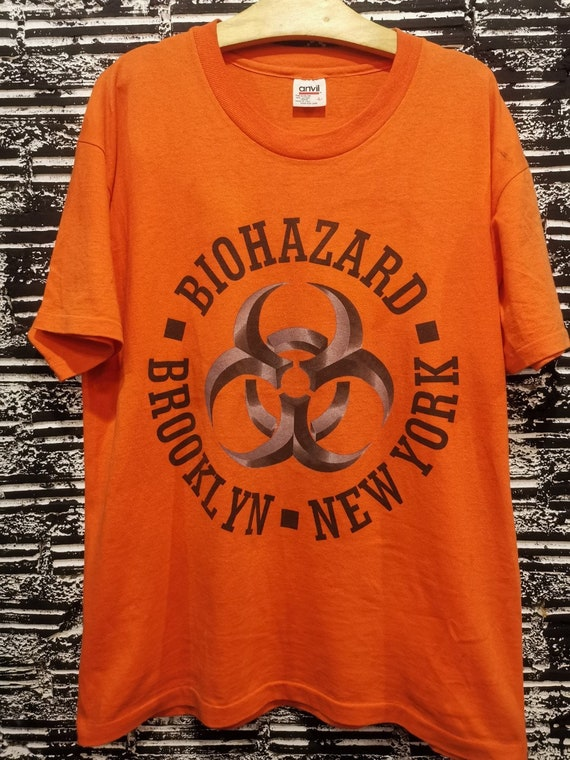 Vintage 90s Biohazard Hardcore Punk Promo Shirt