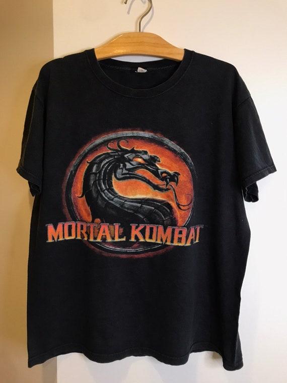 Vintage Mortal Kombat Distressed