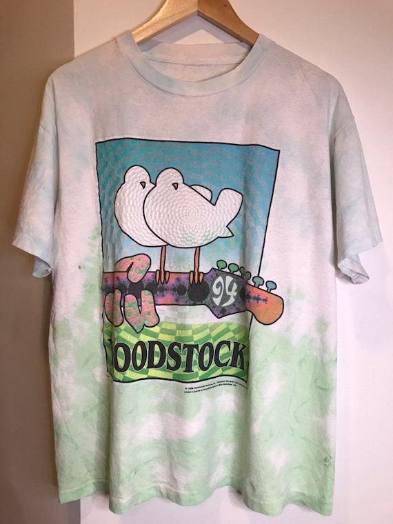 Vintage Woodstock 1994 Tie-Dye