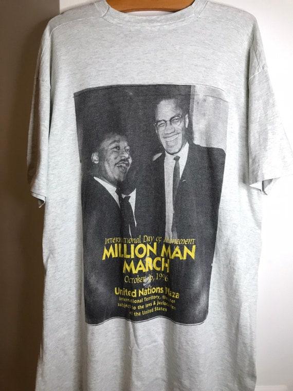 Black History Shirt Vintage 90s Single Stitch Before There Was Any History There Was Black History Tshirt 80s Malcolm X Martin Luther King