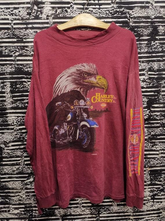 Vintage 90s Harley Davidson Long Sleeve