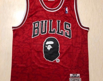 ab03da76e NWT Bape Chicago Bulls Jordan 23 Black Mens Youth Fully Stitched NBA Jersey    Basketball Team Uniform Customize   Full Sublimation Wholesale