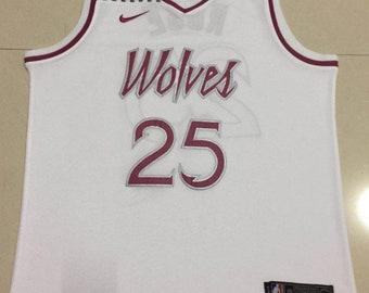 9c2d48c9e Minnesota Timberwolves Rose  25 Basketball NBA Game Performance Jersey  White NWT Men s Full Stitched