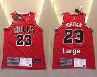 6f070742a98 NWT Vintage Chicago Bulls Jordan  23 Red Mens Youth Fully Stitched NBA  Jersey   Basketball Team Uniform Customize   Sublimation Wholesale