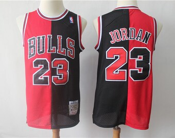 f07c9cf01 NWT Chicago Bulls Jordan  23 Dual Mens Youth Fully Stitched NBA Jersey    Basketball Team Uniform Customize   Full Sublimation Wholesale