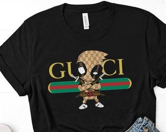 64d346e5 Gucci Deadpool super hero unisex t-shirt - Gucci - funny Gucci - Deadpool