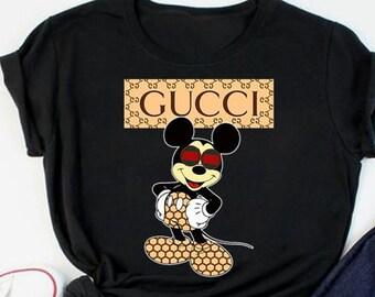 87cd0dd5e Gucci shirt - mickey mouse Gucci - Funny Shirt - disney - Gucci - Gucci  Tshirt- Mickey shirt - Desny t shirt