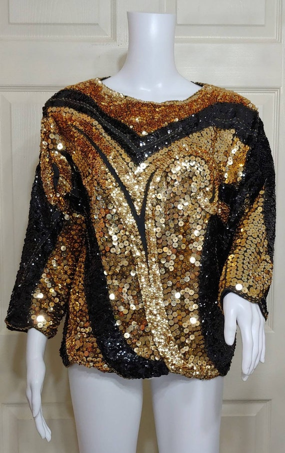 Beaded Disco Top
