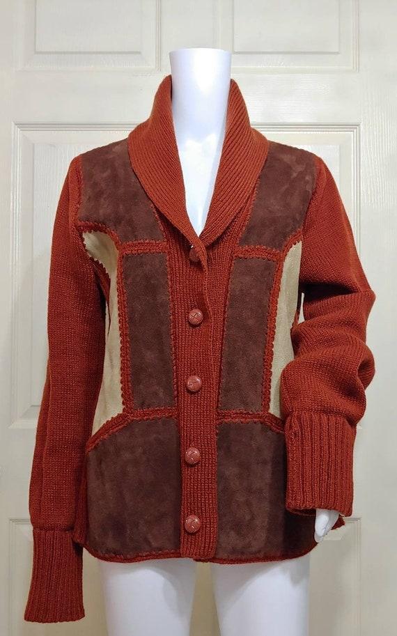 Vtg Montgomery Ward Leather Jacket