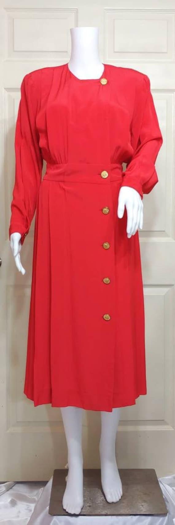 Vtg Albert Nipon Dress