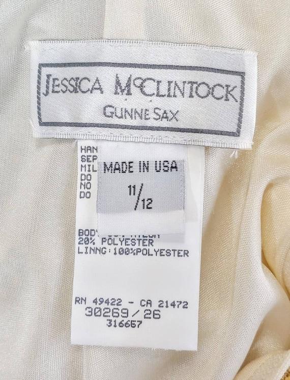 Jessica McClintock Gunne Sax Party Dress - image 9