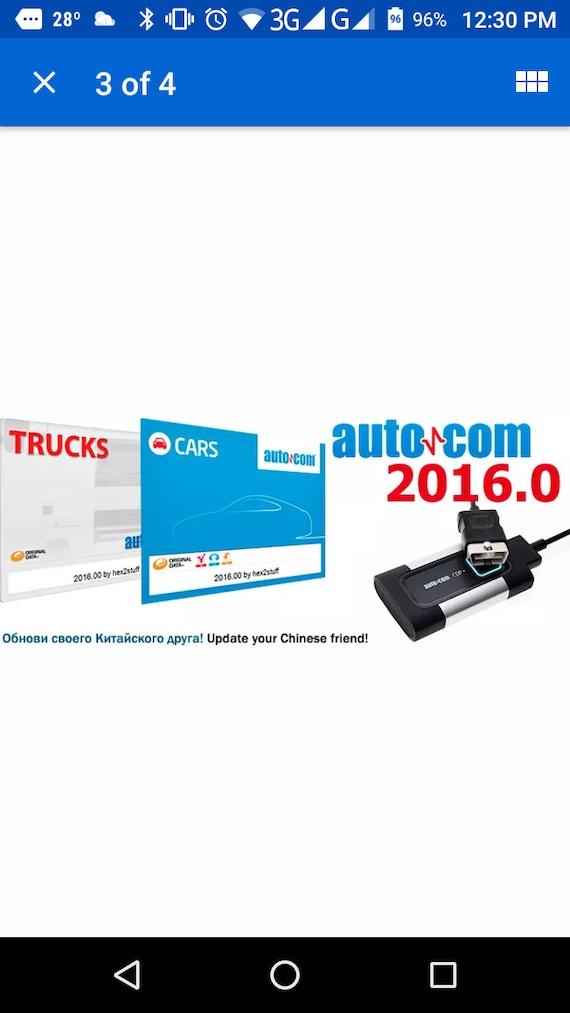 Autocom 2016 R0 Keygen Activator for TCS CDP Pro Plus New Vci Key