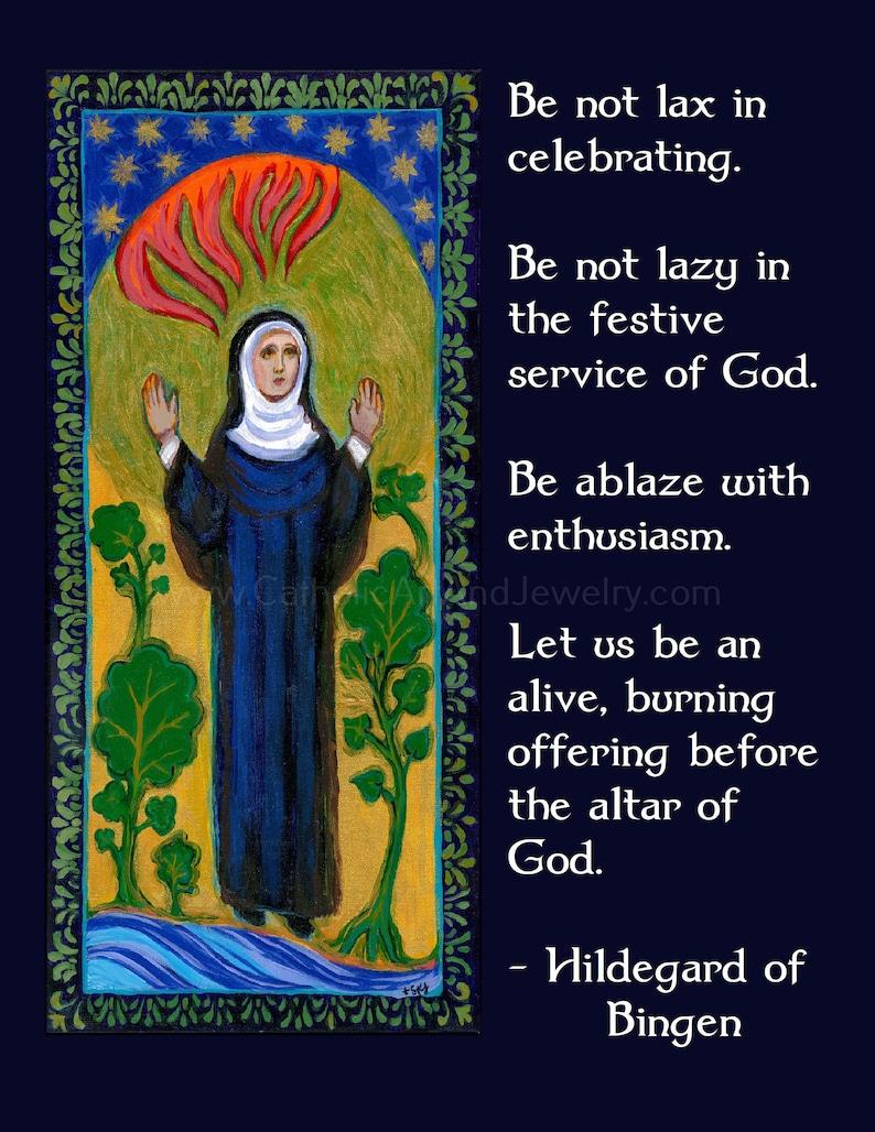 Hildegard of Bingen's: The Joy of Serving God  image 0
