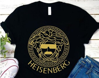 3bced8125 Versace T-shirt, Versace Gold Tshirt, Versace Shirt For Men Women Luxury  Streetwear, Versace Inspired Clothing, Unisex,