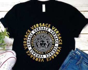 89c17ad8 Versace T-shirt, Versace Tshirt, Versace Shirt For Men Women Luxury  Streetwear, Versace Inspired Clothing, Unisex,