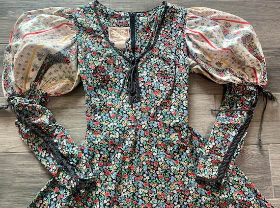 Vintage 1969's Gunne Sax Prairie Dress - image 1