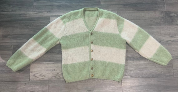 Vintage 1960s Mohair Cardigan