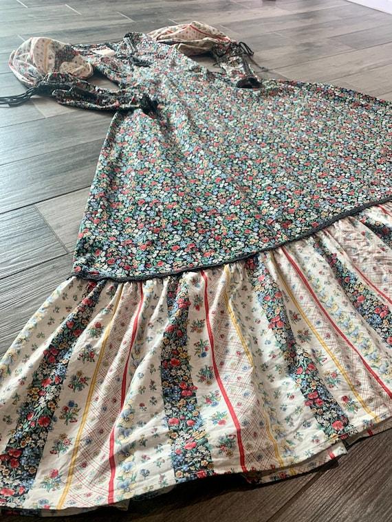 Vintage 1969's Gunne Sax Prairie Dress - image 5