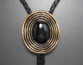 Mantieqingway Vintage Mens Bolo Tie Collar Bow Western Chian Necklace Necktie To