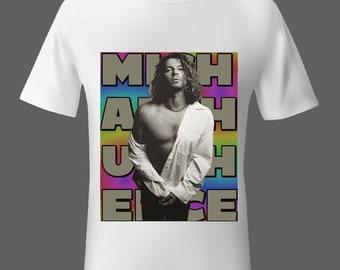 hd bande imprimé photo s-3XL 1980 S NEVER TEAR US APART INXS BAND//MUSIQUE T-shirt