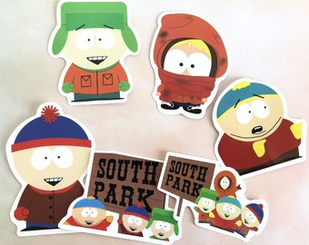 South Park Kenny Whipped Cartoon Car Bumper Sticker Decal 4/'/' x 5/'/'