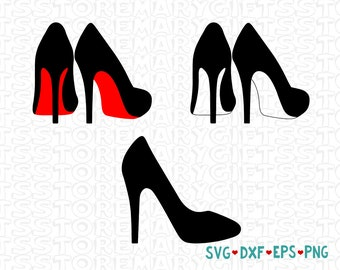 32402457f01f High Heels SVG Stiletto Heels Svg Decal Digital Silhouette Png Eps Dxf Ai  Vinyl Cut File Beauty Glamour Clipart Party Decor Stencil