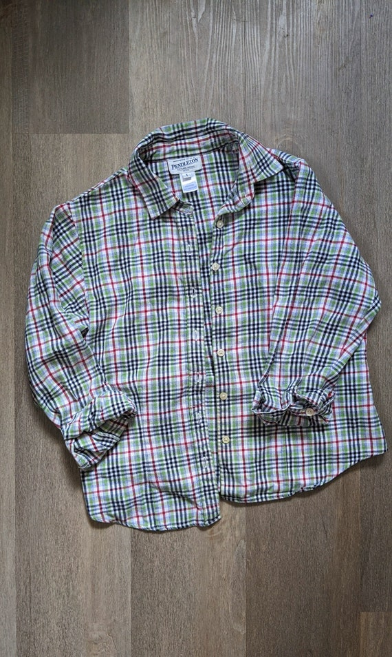 vintage pendleton flannel