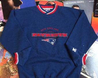 41d54c5e7 Vintage 90s New England Patriots Starter Crewneck  Sweatshirt  NFL  AFC   Super Bowl  Tom Brady  Size Medium  M