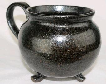 Cauldron Mug, Witches Cauldron, Witch Mug, Potion Mug, Handmade, Mug, Witchy, Cup, Magic, Spells, Magical, Cauldron