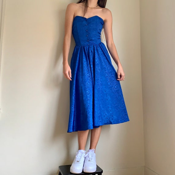 Vintage 1980s Deadstock Nina Piccalino Dress