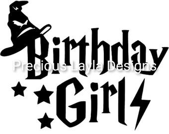 Harry Potter Birthday Svg Etsy