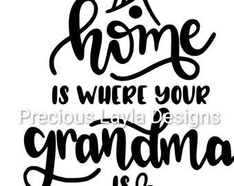Grandma Kitchen Svg Etsy