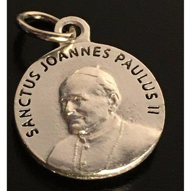 John Paul Ii Pope Ex-Indumentis Relic Medal 2Nd Class St