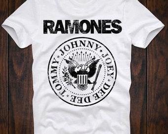T-Shirt CBGB OMFUG Ramones Punk Rock Studio 54 Disco Nightclub Retro VIntage