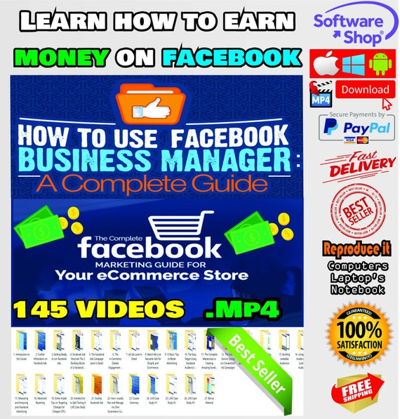 Facebook Ads for E-Commerce: The Complete Guide, Learn How to Earn Money on Facebook