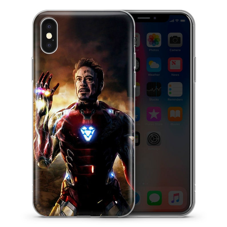Inspired by Iron Man AVENGERS marvel superheroes phone case 1