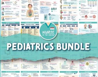 Pediatric Bundle   21 Pages   PEDS Nursing School   Digital Download