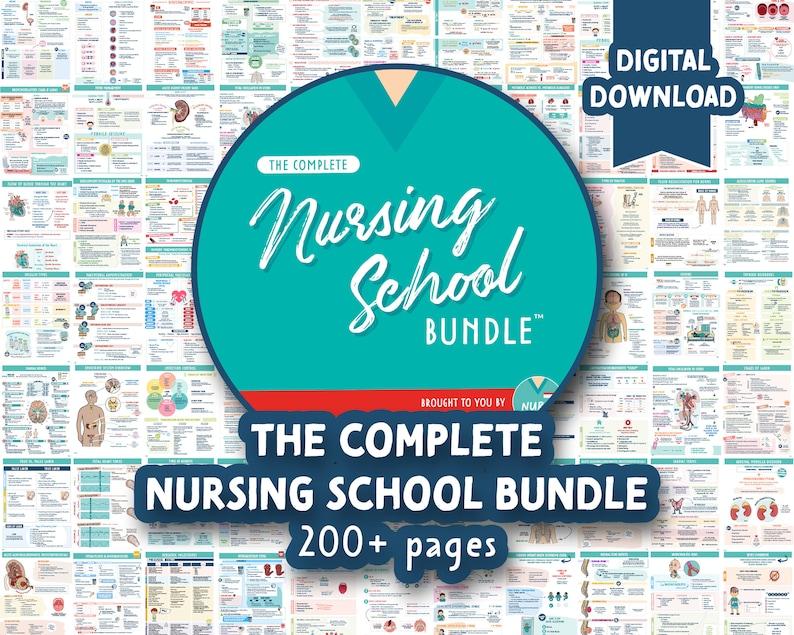The Complete Nursing School Bundle™   200 Pages  Digital image 1