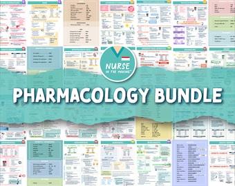 Pharmacology Bundle   33 pages   Digital Download