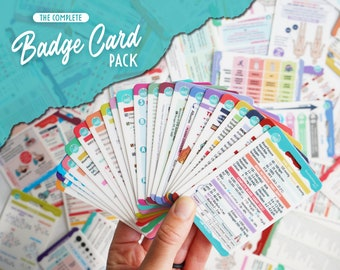 The Complete Badge Card Pack