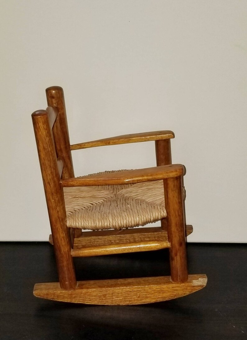 Admirable Doll Wicker Rocking Chair Dailytribune Chair Design For Home Dailytribuneorg