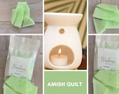 Amish Quilt, Highly Scented Soy Wax Melts For Oil Burner, Many Fragrances, Brittle, Wax Burners, Eco-friendly