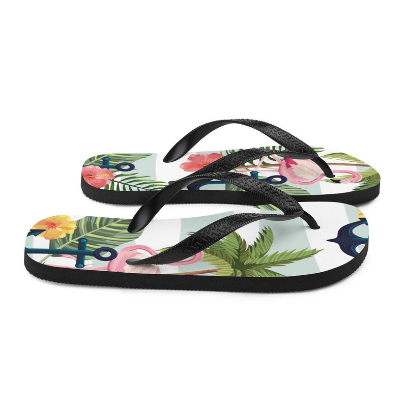 Flip flops with anchor
