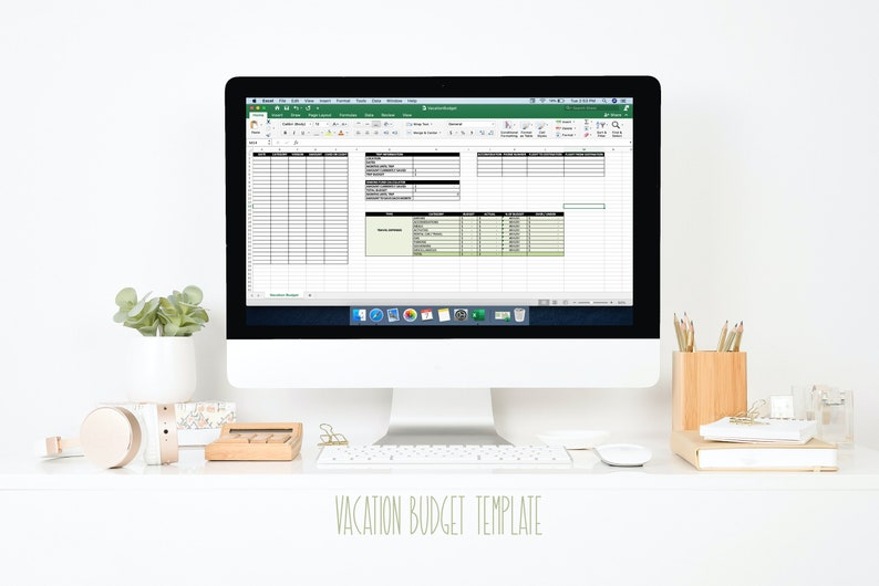 Vacation Budget Template image 0