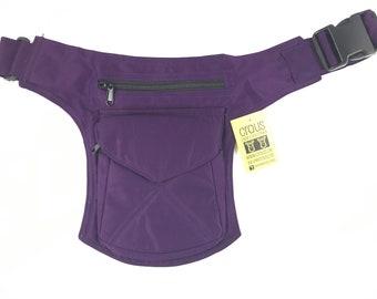 """Fanny Pack/Shoulder bag/pouch or bag model """"Stiching"""" unisex. Travel bag. Hip Bag. Holster bag. Adjustable strap. Cotton Canvas."""