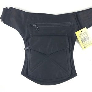 Fanny PackShoulder bagpouch or bag model Stiching unisex Hip Bag Adjustable strap Travel bag Cotton Canvas. Holster bag