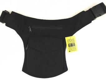 """Kidney/Bag/Faltriquera model """"Stiching"""" unisex. Travel bag. Hip Bag. Holster bag. Adjustable Strap. Algodon Canvas"""